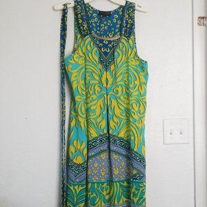 NWOT Hale Bob maxi dress
